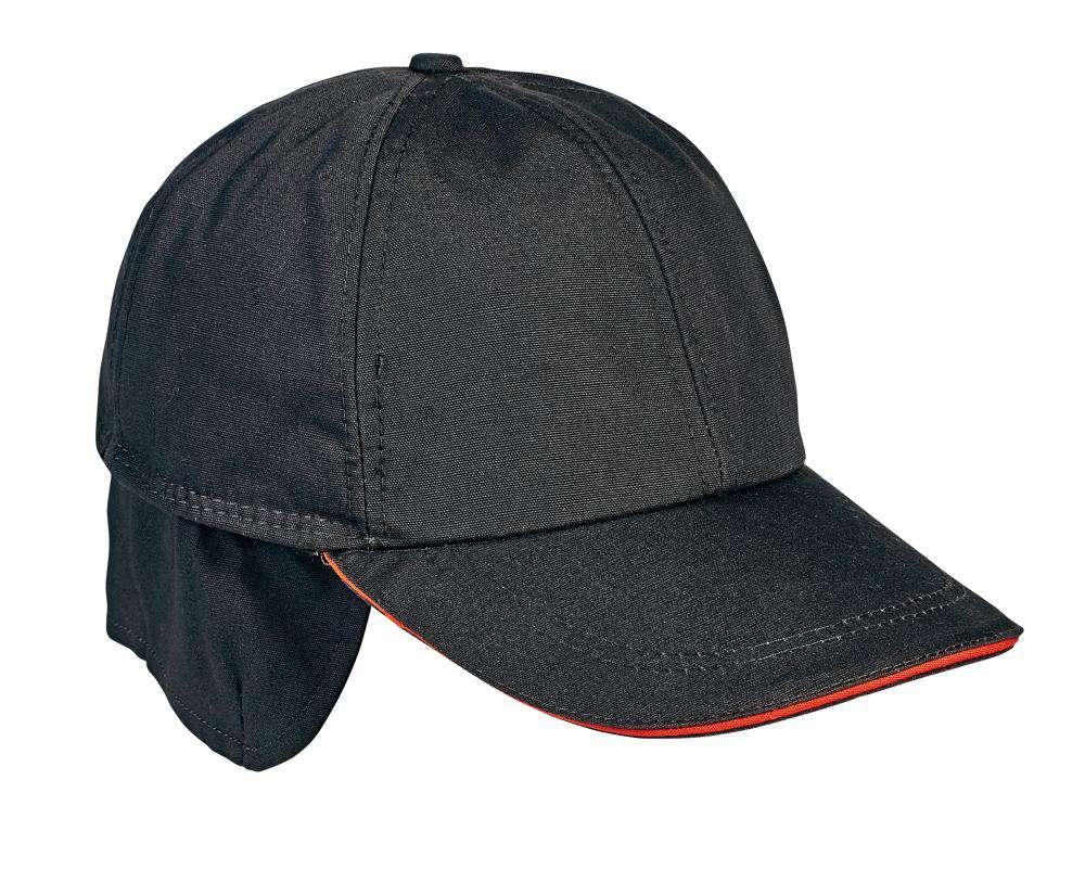 Australian Line EMERTON zimní čepice černá/oranžová S