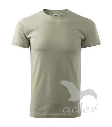 Adler 129 Tričko Basic světlá khaki vel.XXL