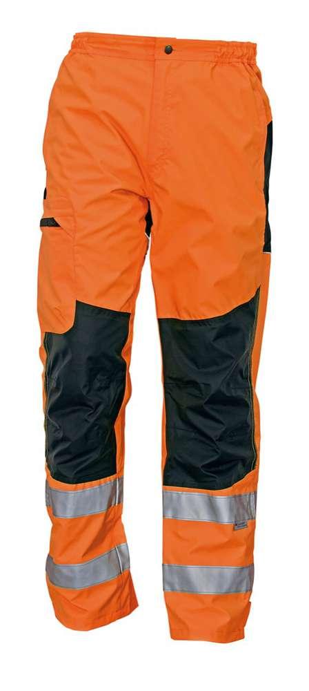 Červa Výstražné kalhoty Ticino oranžové XXL