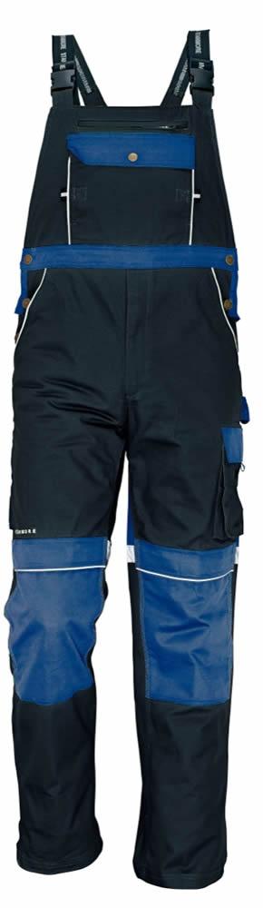Australian Line Montérkové kalhoty s laclem Stanmore hnědé 58
