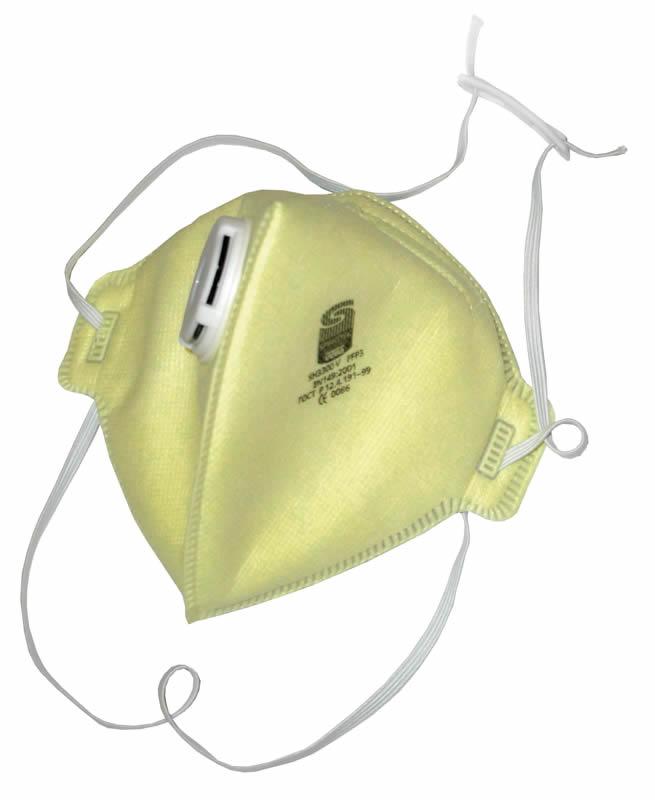 Spirotek Skládací respirátor SH3300V FFP3 s výdechovým ventilem