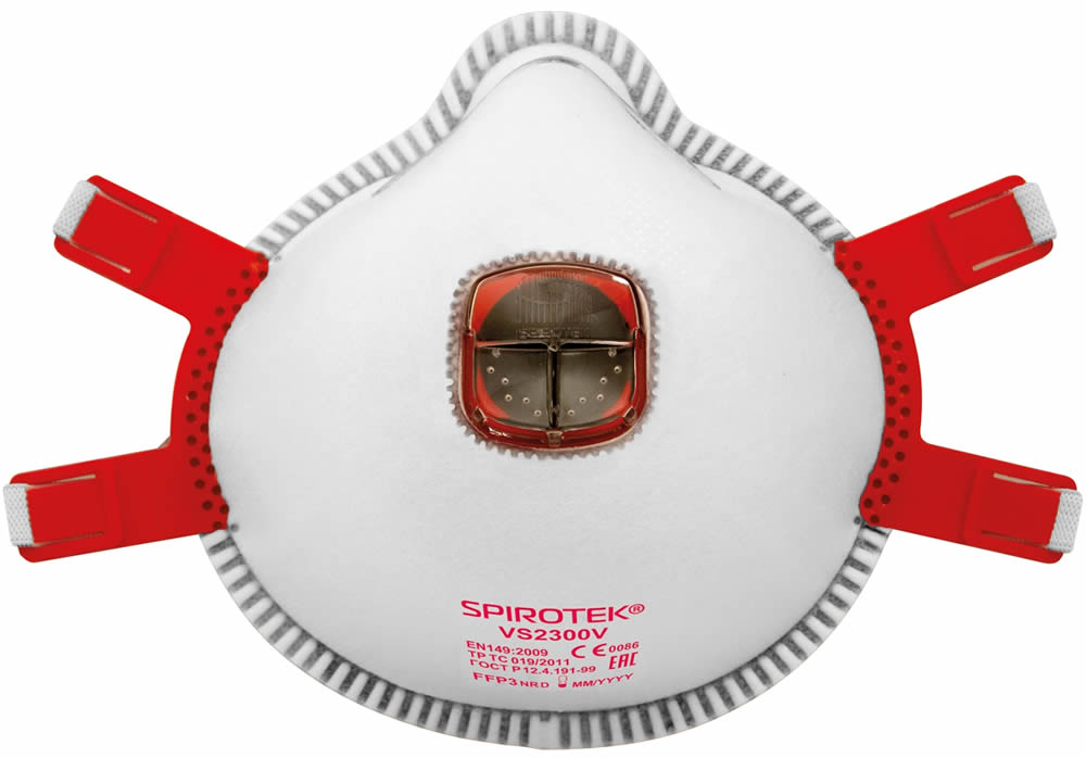 Spirotek Respirátor VS2300V FFP3 s výdechovým ventilem
