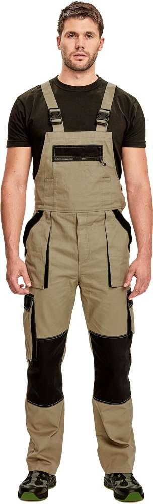 Červa MAX SUMMER kalhoty lacl modrá/černá vel.54