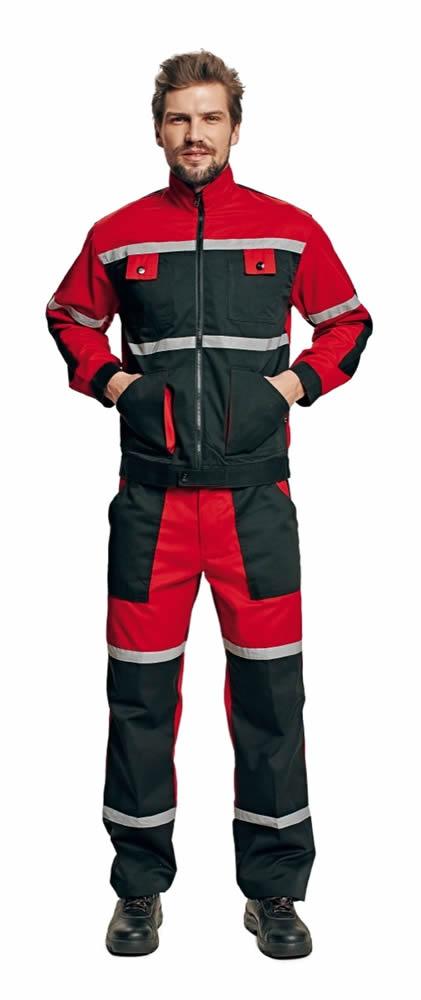Červa TAYRA bunda červená 52