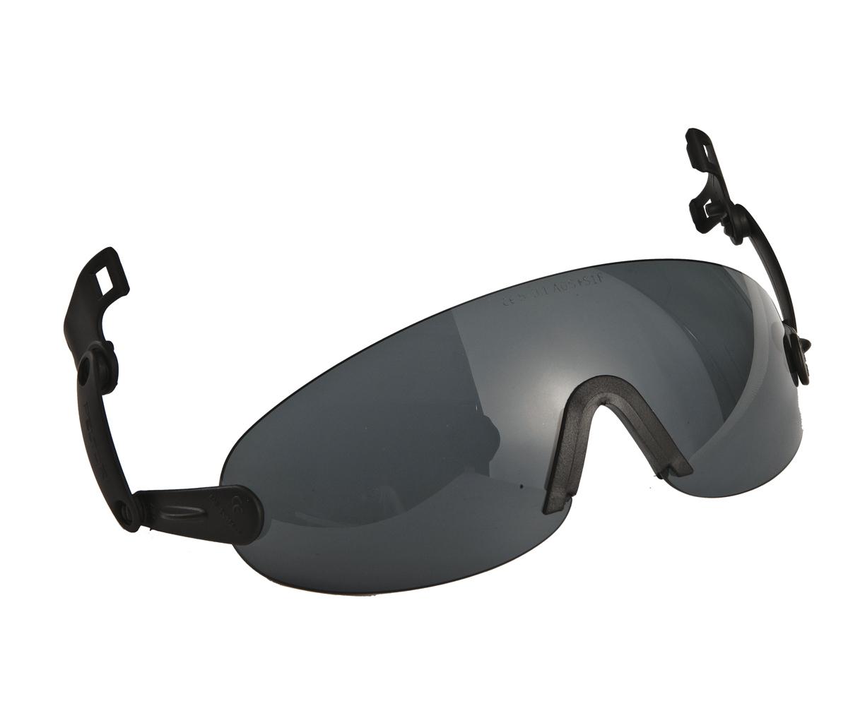 3M Peltor V6B Integrované brýle k přilbě šedé