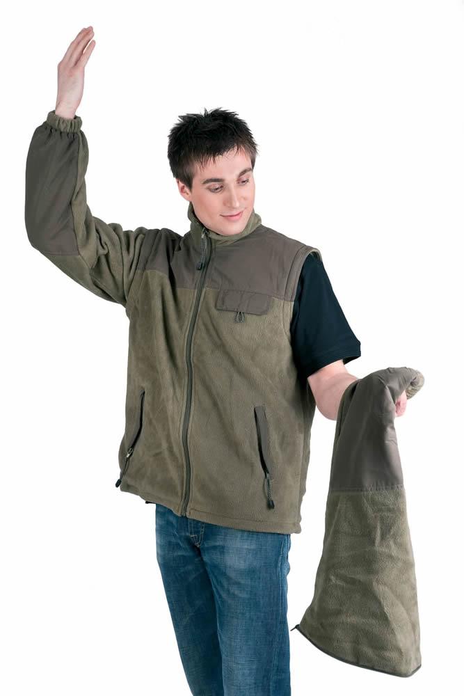 Červa RANDWIK fleecová bunda lahv. zelená S