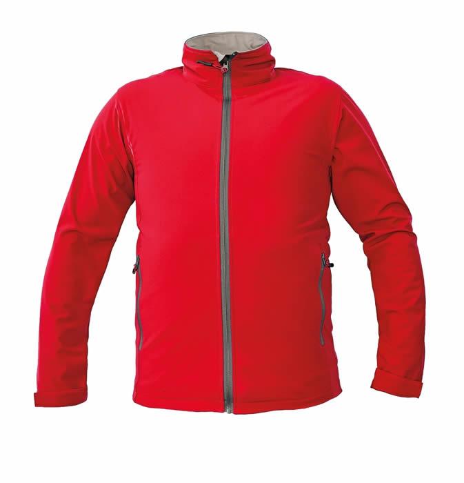 CRV NAMSEN softshellová bunda červená S