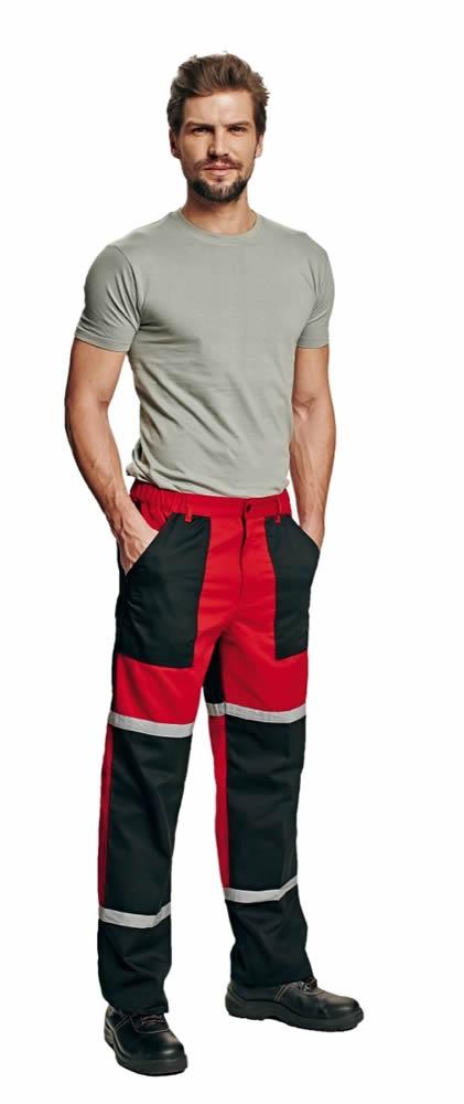 Červa TAYRA kalhoty do pasu červená 52