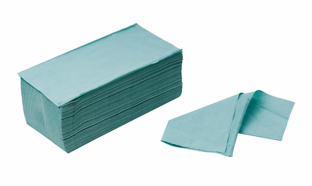 Papírové ručníky Z-Z zelené 5000 ks