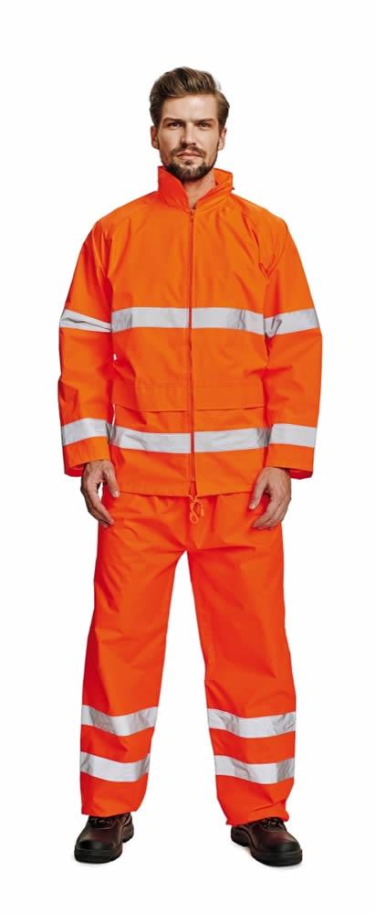 Červa Gordon bunda reflexní oranžová - M