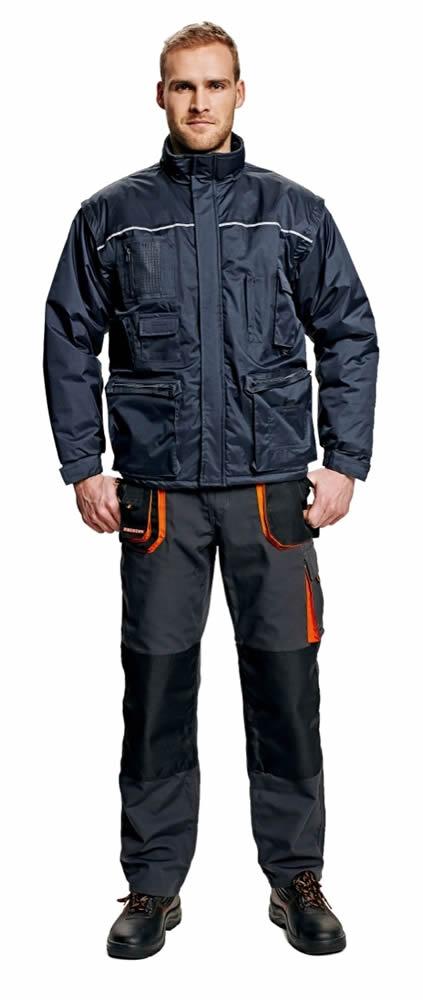 Červa Libra bunda zimní šedá 2v1 - L