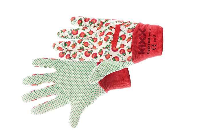 FRESH FRUIT dámské bavlněné rukavice vel.8