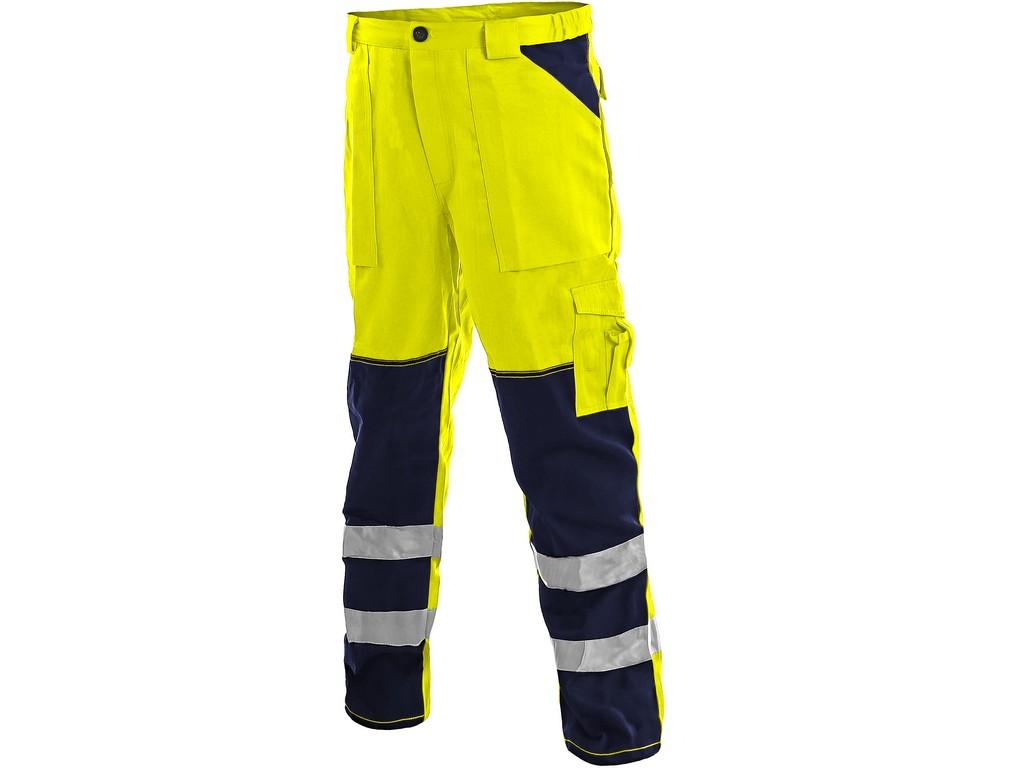 CXS Kalhoty Norwich žluto-modré, vel. 52