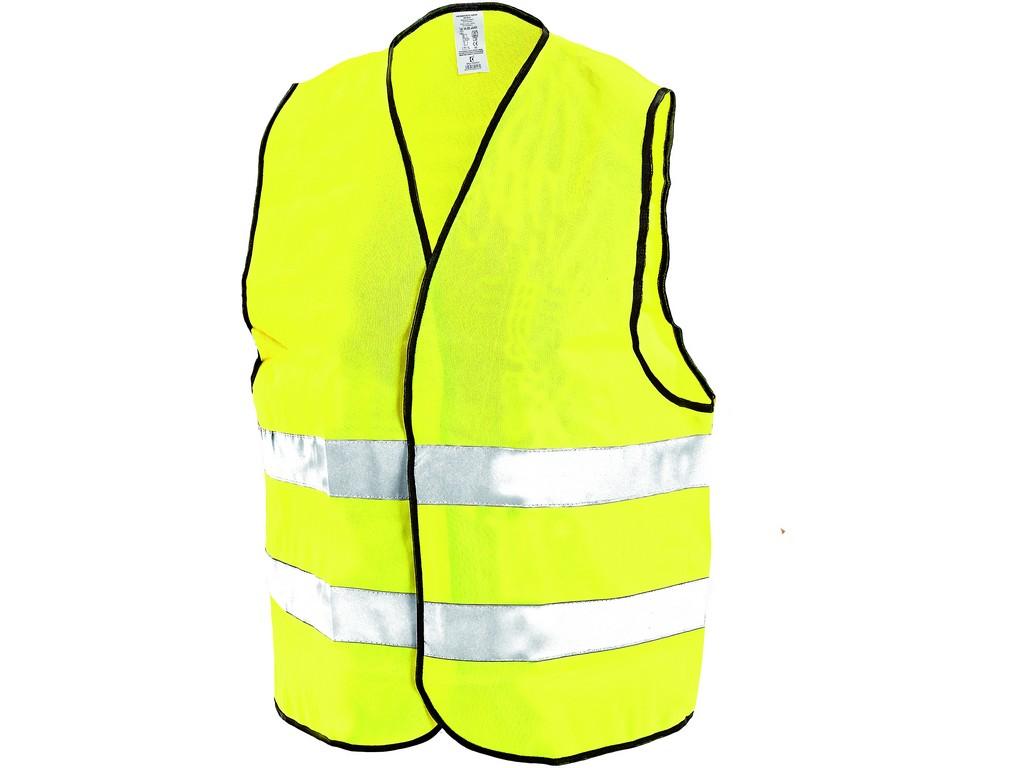 CXS Reflexní vesta Gustav žlutá L/XL