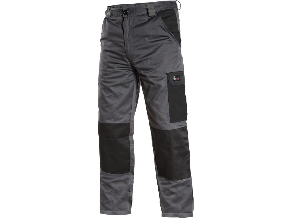 CXS Pánské kalhoty PHOENIX CEFEUS, šedo-černé, vel. 52