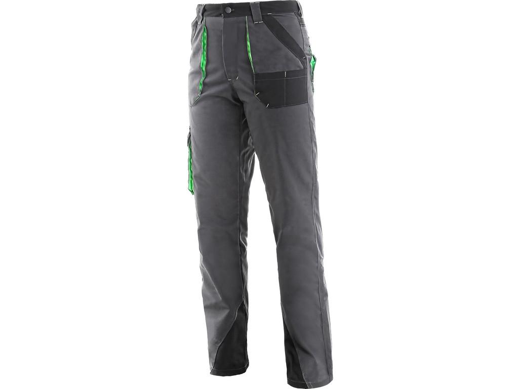 CXS Kalhoty Sirius Aisha šedo-zelené - 56