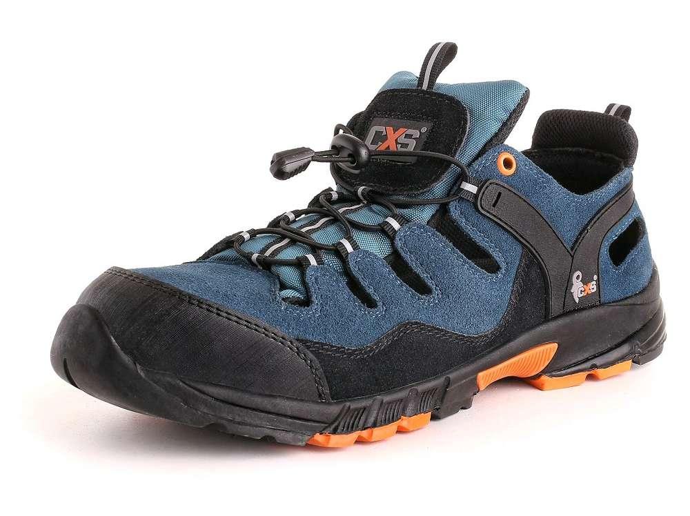 CXS Obuv sandál ISLAND CABRERA S1, ocel.šp., černo-modrá vel.45