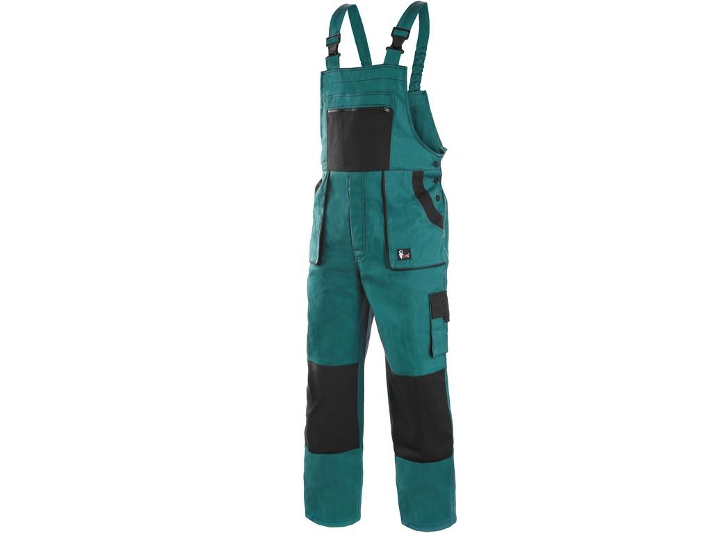 CXS Kalhoty Lux Martin zeleno-černé zimní 50