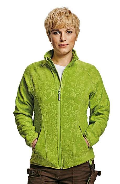 CRV YOWIE bunda fleece dámská sv. fialová L