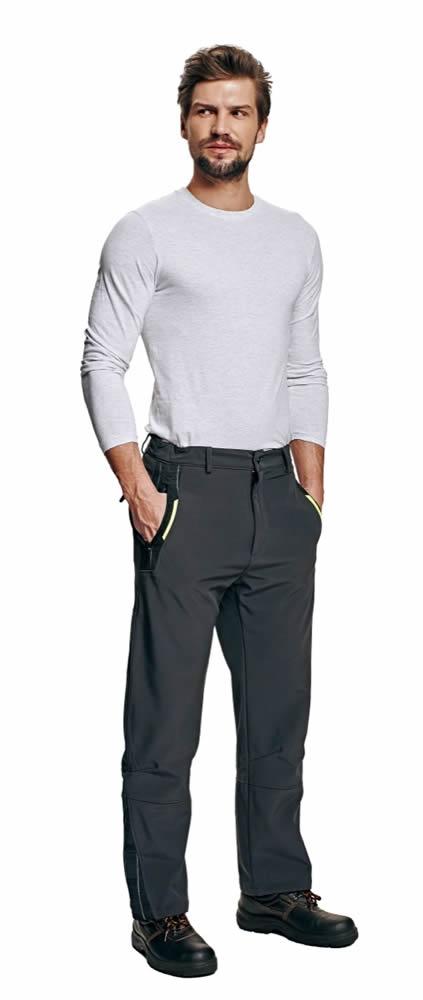 Australian Line OLZA softshellové kalhoty šedá 3XL