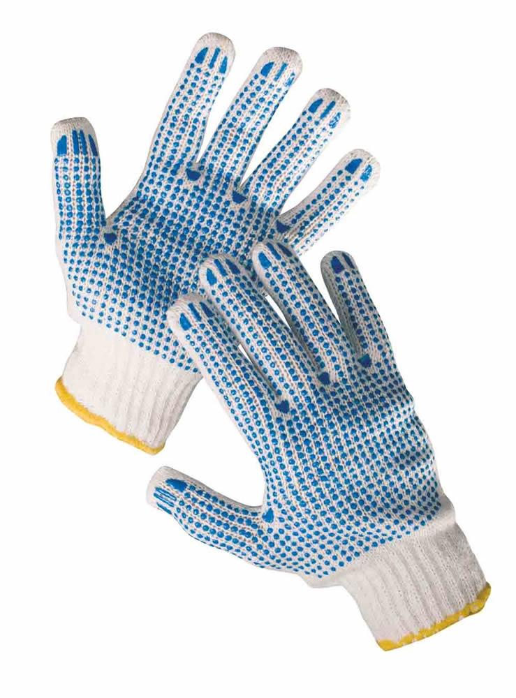 Červa QUAIL rukavice TC s PVC terčíky - 10