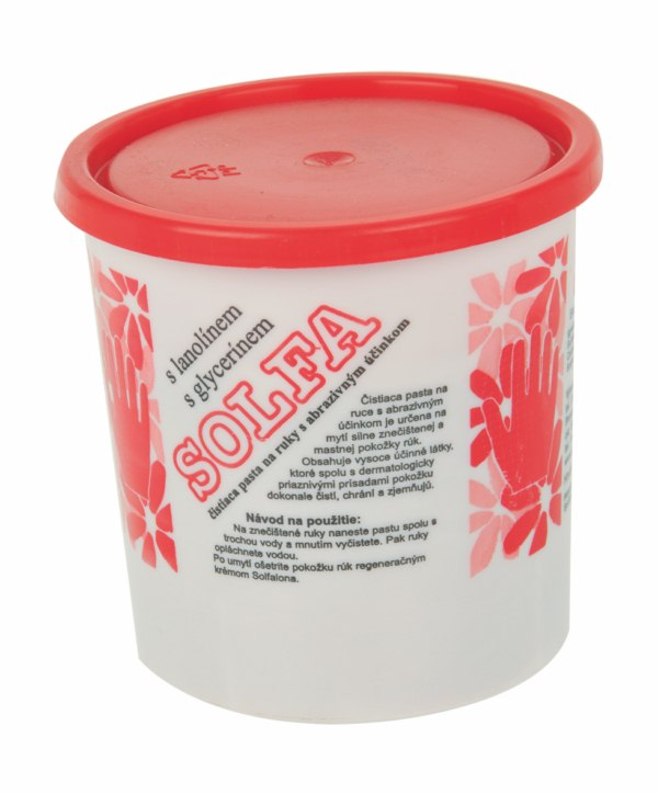 Solfa 450g mycí pasta na ruce