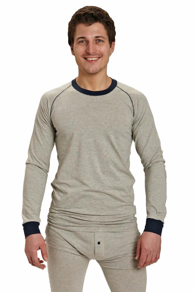 Červa Lion tričko dlouhý rukáv šedá - XS/S