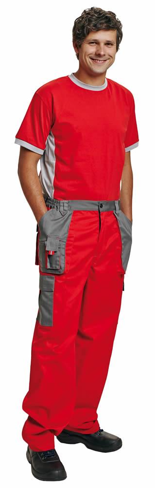 Červa Max Evolution kalhoty do pasu červená - 48