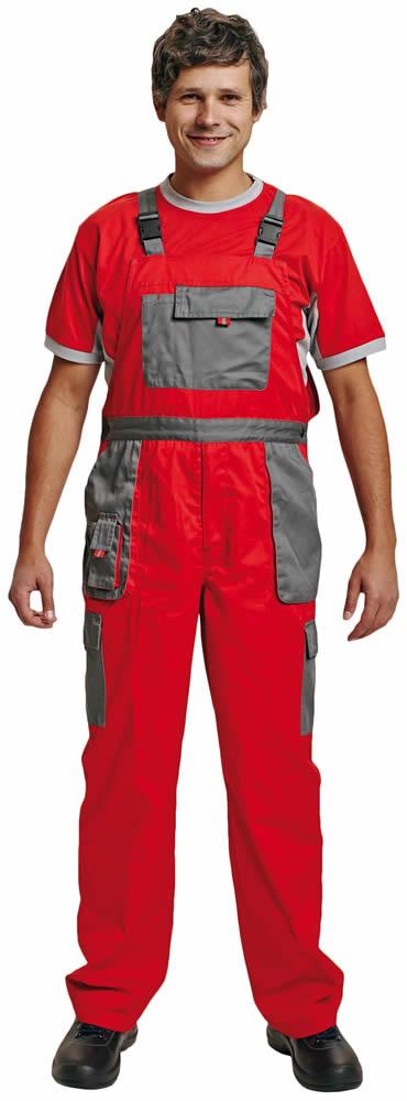 Červa Max Evolution kalhoty s laclem červená - 54