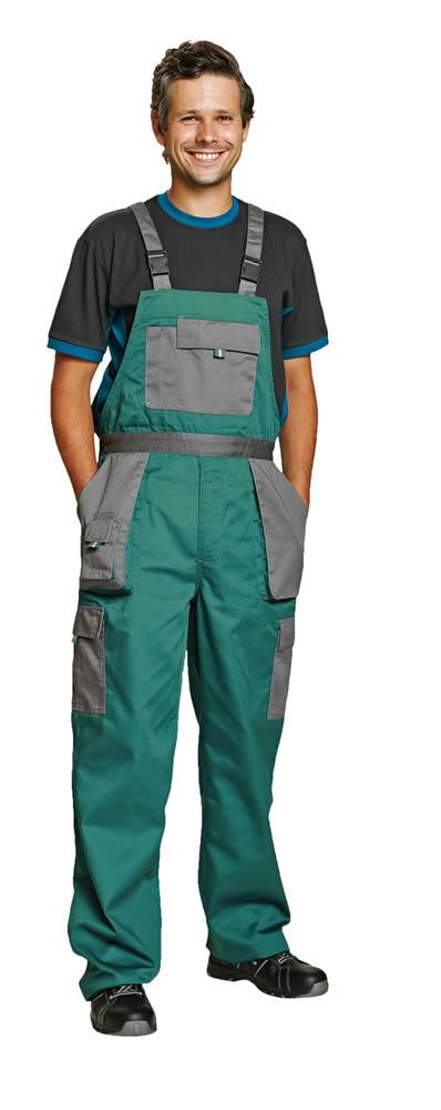 Červa Max Evolution kalhoty s laclem zelená - 50