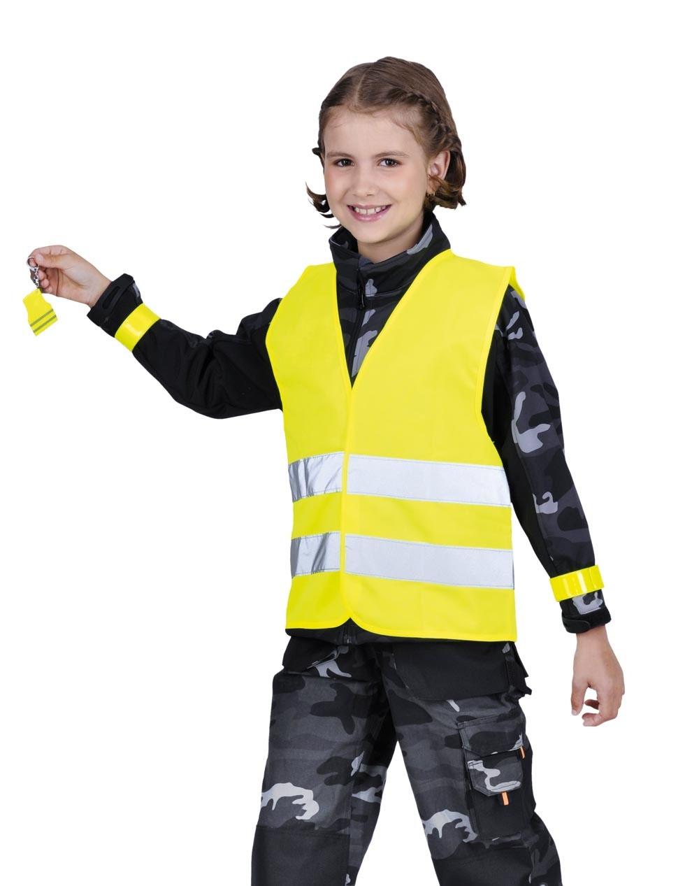 Červa Narda HV dětský set žlutá - 140