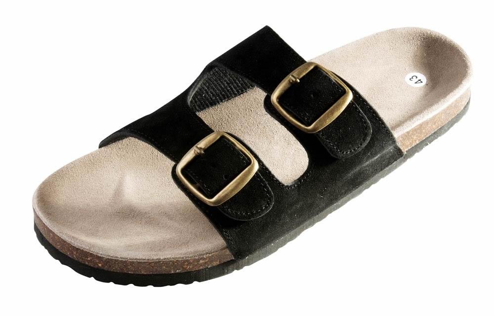 Červa Pantofle Pudu korek černé - 36