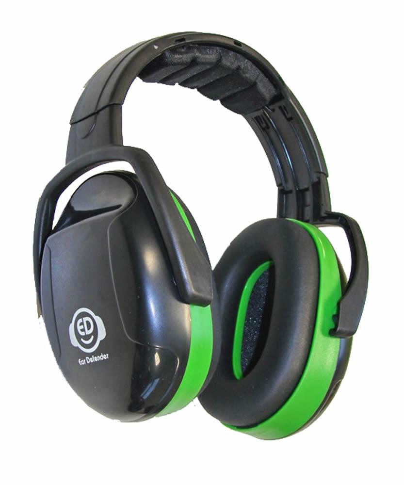Ear Defender Chrániče sluchu ED 1H green 26 dB