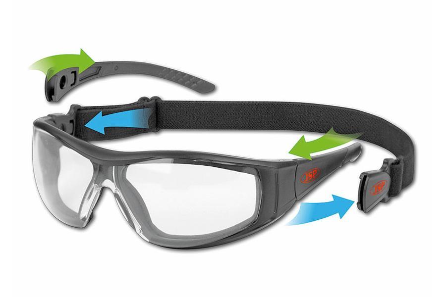 JSP JSP brýle STEALTH HYBRID AF, AS čirá