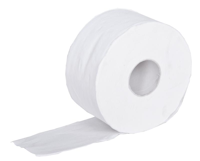 Toaletní papír Jumbo 280 bílý 2-vrstvý