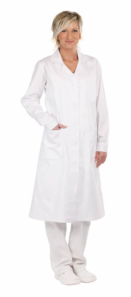 Červa Veris plášť dl.rukáv bílý - 58