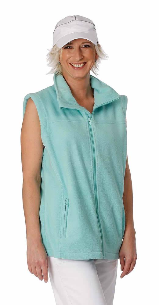 Červa Vorma Lady fleece vesta zelená - XS