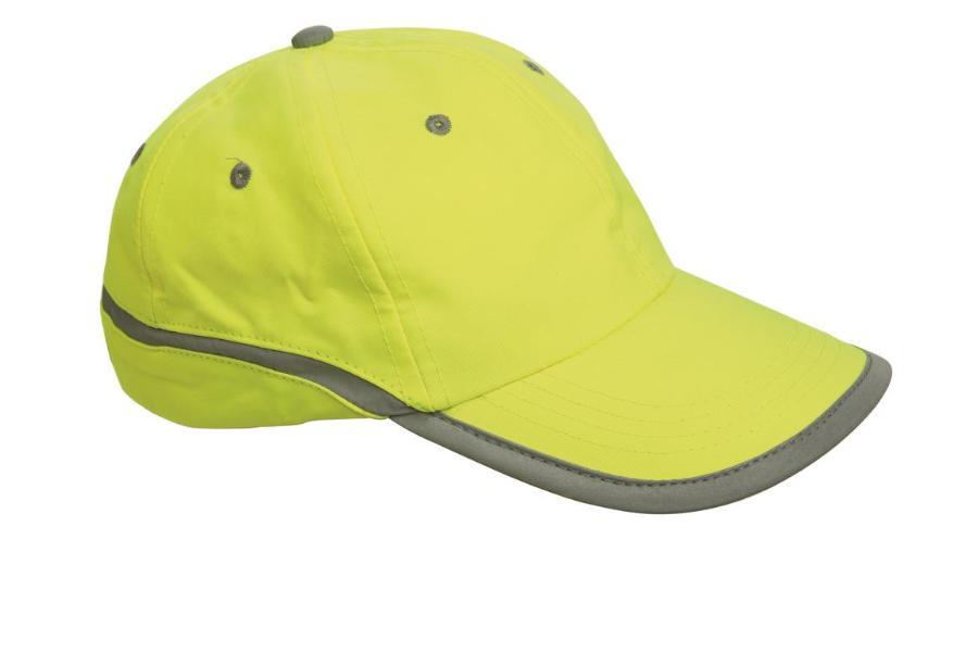 Červa TAHR baseballová čepice reflex. žlutá